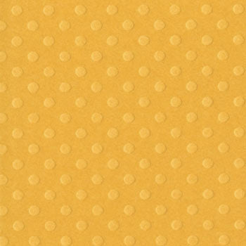 Bazzill 12x12 Dotted Swiss - Honey