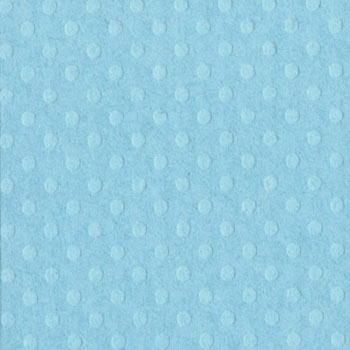 Bazzill 12x12 Dotted Swiss - Poolside