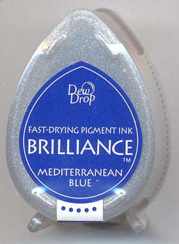 Brilliance Dew Drop - Mediterranean Blue