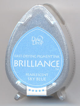 Brilliance Dew Drop - Pearlescent Sky Blue