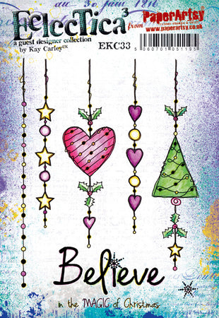 PaperArtsy Stamp Set - Eclectica³ Kay Carley 33