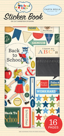 Carta Bella School Days - Sticker Book