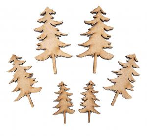 Creative Expressions - Fir Tree - Pack 6