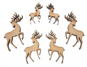 Creative Expressions - Reindeers - Pack 6