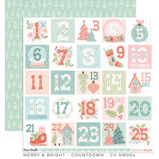 Cocoa Vanilla Studio Merry & Bright - Countdown