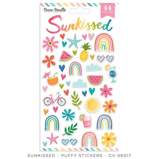 Cocoa Vanilla Studio Sunkissed - Puffy Stickers