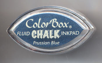 Cats Eye Fluid Chalk Prussian Blue