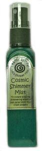 Cosmic Shimmer Mist - Peacock Green