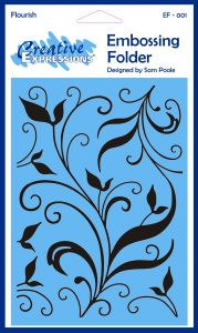Creative Expressions Embossing Folder - Flourish
