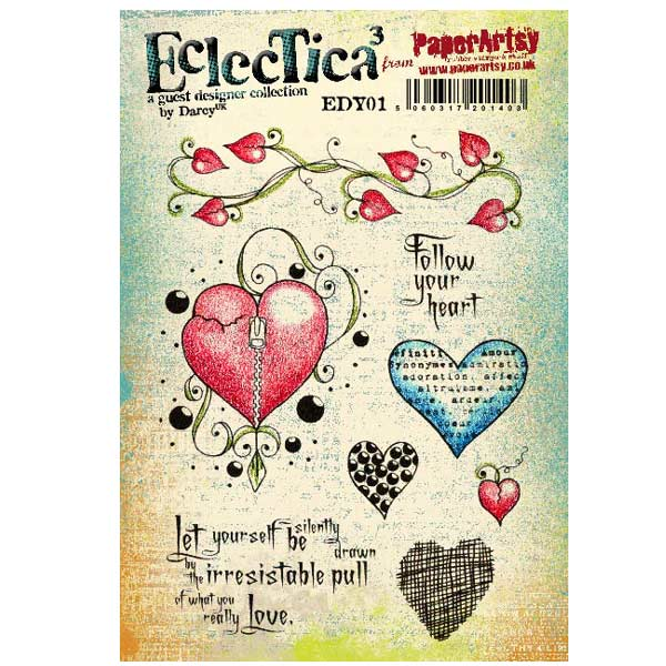 PaperArtsy Stamp Set - Eclectica�� 01
