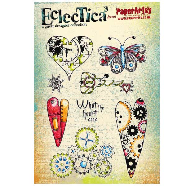 PaperArtsy Stamp Set - Eclectica�� 02