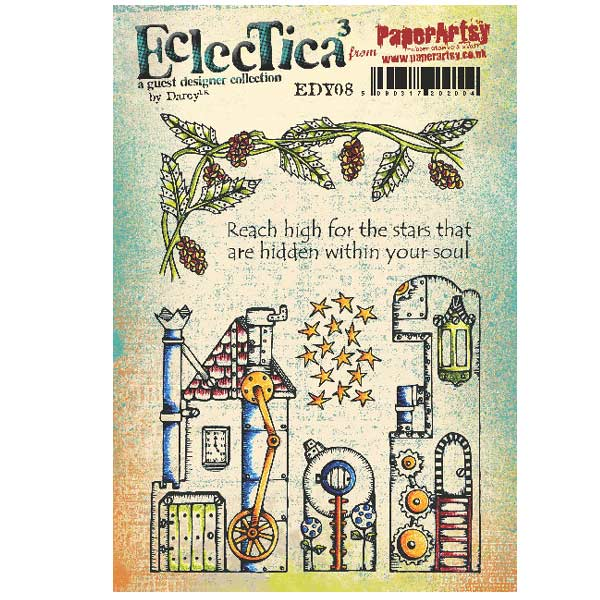 PaperArtsy Stamp Set - Eclectica�� 08