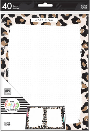 Me & My Big Ideas Happy Planner - Leopard Classic Fill Paper