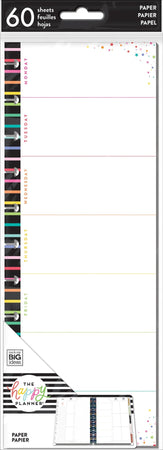 Me & My Big Ideas Happy Planner - BIG Half Sheet Weekly Stripe