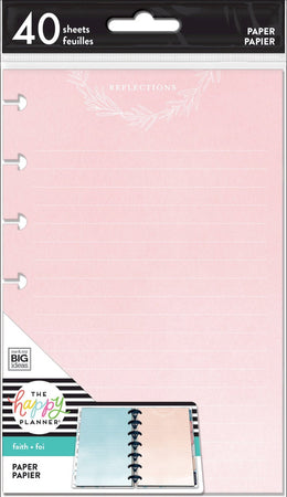Me & My Big Ideas Happy Planner - Mini Fill Paper Faith Disciplines