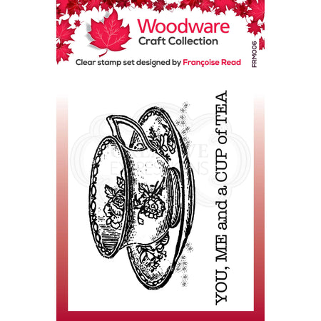 Woodware Clear Magic Stamps - Cup of Tea