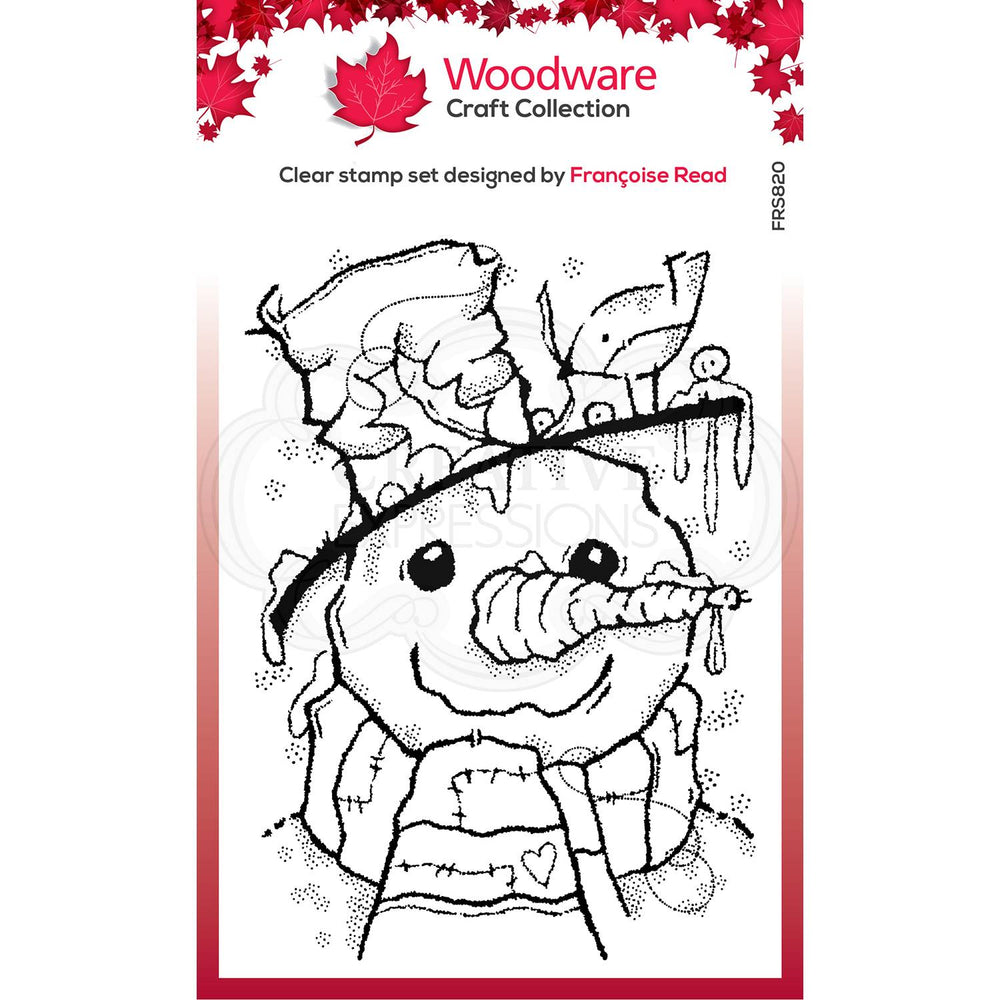 Woodware Clear Magic Stamps - Mr Frosty