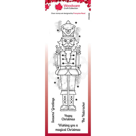 Woodware Clear Magic Stamps - Nutcracker