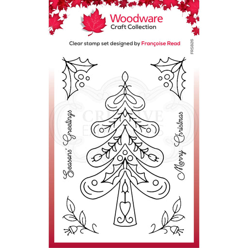 Woodware Clear Magic Stamps - Nordic Trees