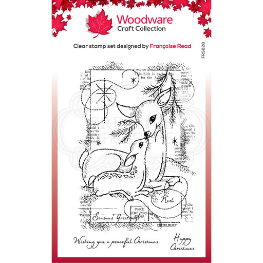 Woodware Clear Magic Stamps - Baby Deer
