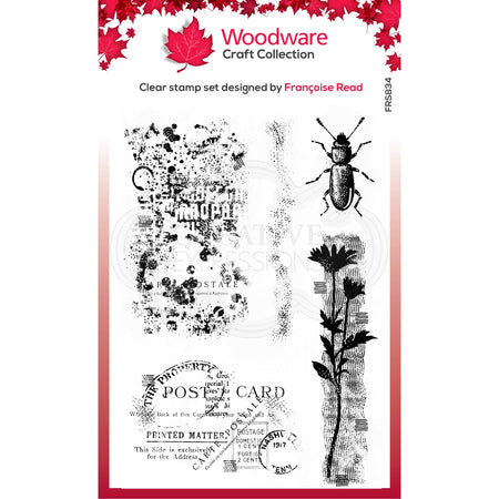 Woodware Clear Magic Stamps - Marks
