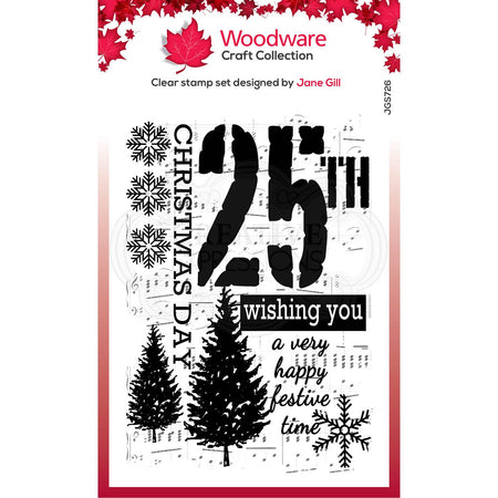 Woodware Clear Magic Stamps - Music for Christmas