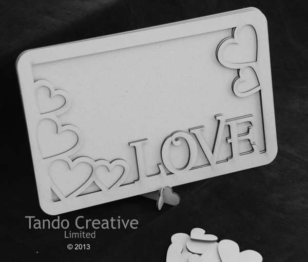 Tando Creative - Love Frame with Stand