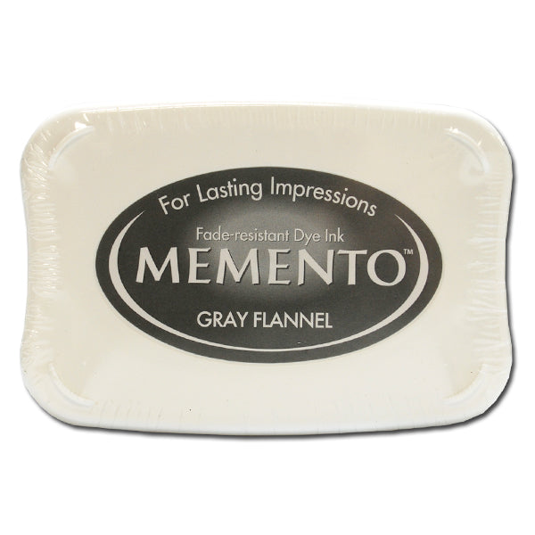 Memento Ink Pad - Gray Flannel