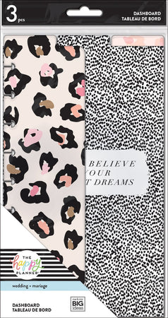 Me & My Big Ideas Happy Planner - Classic Dashboards - Everyday Leopard