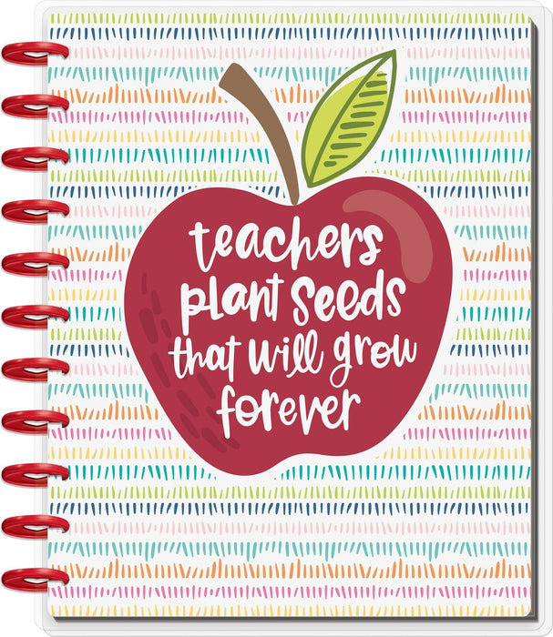 Me & My Big Ideas Teacher Happy Planner Large - Teachers Plant Seeds