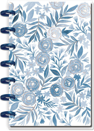 Me & My Big Ideas Happy Notes - Blue Florals Mini Happy Notes