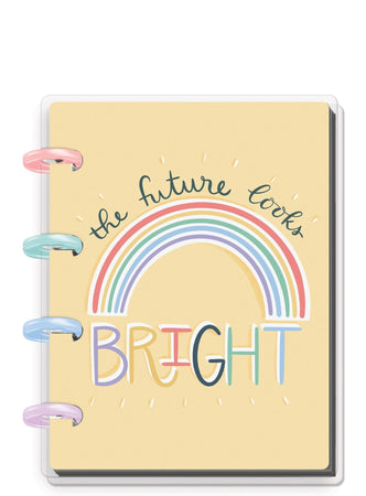 Me & My Big Ideas Happy Notes - Future Looks Bright Micro Memo Book (Dot Lined)