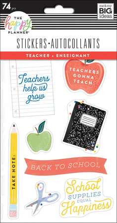 Me & My Big Ideas Happy Planner - Teacher Stickers