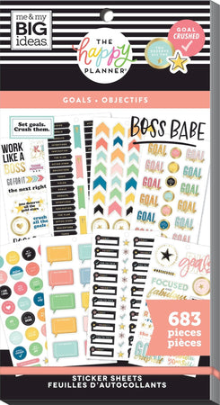 Me & My Big Ideas Happy Planner - Sticker Value Pack Goals