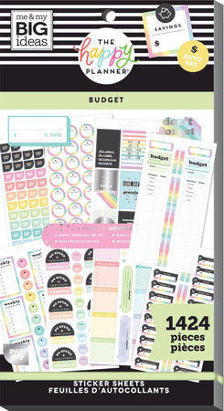 Me & My Big Ideas Happy Planner - Sticker Value Pack Budget
