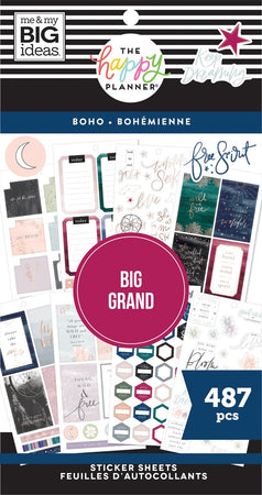 Me & My Big Ideas Happy Planner - Sticker Value Pack Big Boho