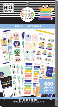 Me & My Big Ideas Happy Planner Sticker Value Pack - Bookish