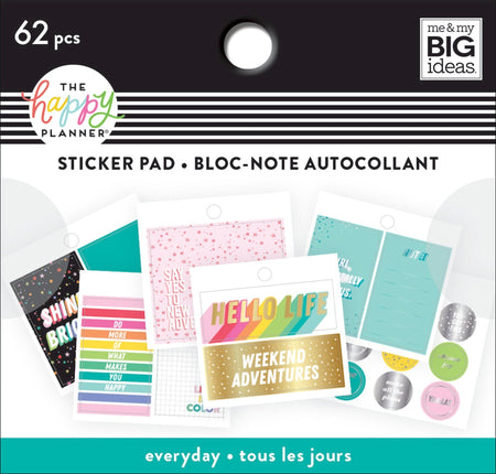 Me & My Big Ideas Happy Planner - Tiny Sticker Pad Everyday