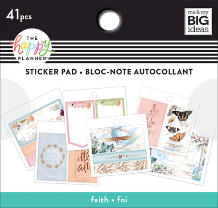 Me & My Big Ideas Happy Planner - Tiny Sticker Pad Faith