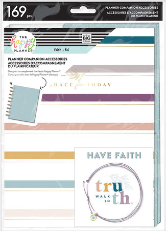 Me & My Big Ideas Happy Planner - Simple Faith Classic Planner Companion Accessories
