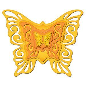 Spellbinders Shapeabilities - Nested Butterflies Two