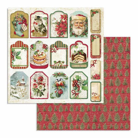 Stamperia - Classic Christmas Tags