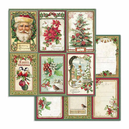 Stamperia - Classic Christmas Cards