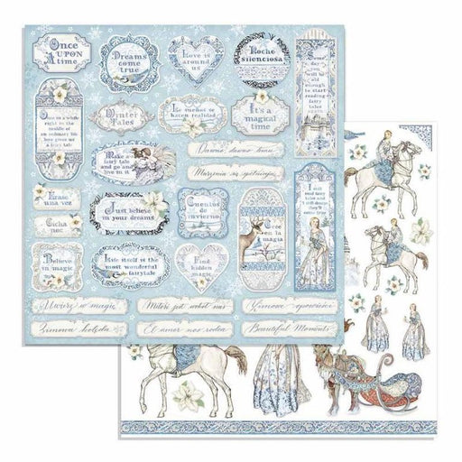 Stamperia - Winter Tales Tags & Frames