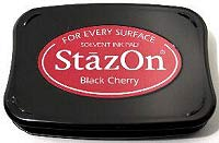 StazOn Inkpad - Black Cherry