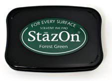 StazOn Inkpad - Forest Green