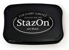 StazOn Inkpad - Jet Black