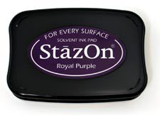 StazOn Inkpad - Royal Purple