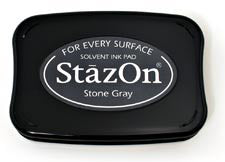 StazOn Inkpad - Stone Grey