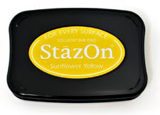 StazOn Inkpad - Sunflower Yellow